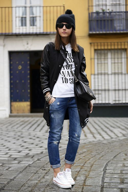 How To Wear Sneakers for Spring: 85 Street Style Photos   StyleCaster