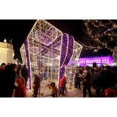 led weihnachtsbeleuchtung außen figuren Geschenk-Boxen