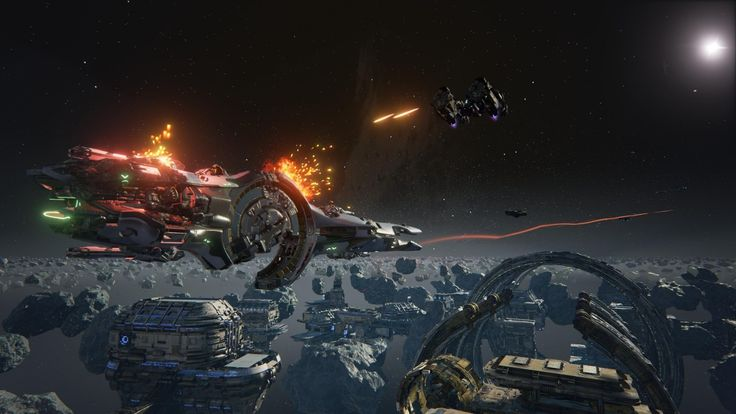 Dreadnought, space ship, PC, PS 4, Xbox One