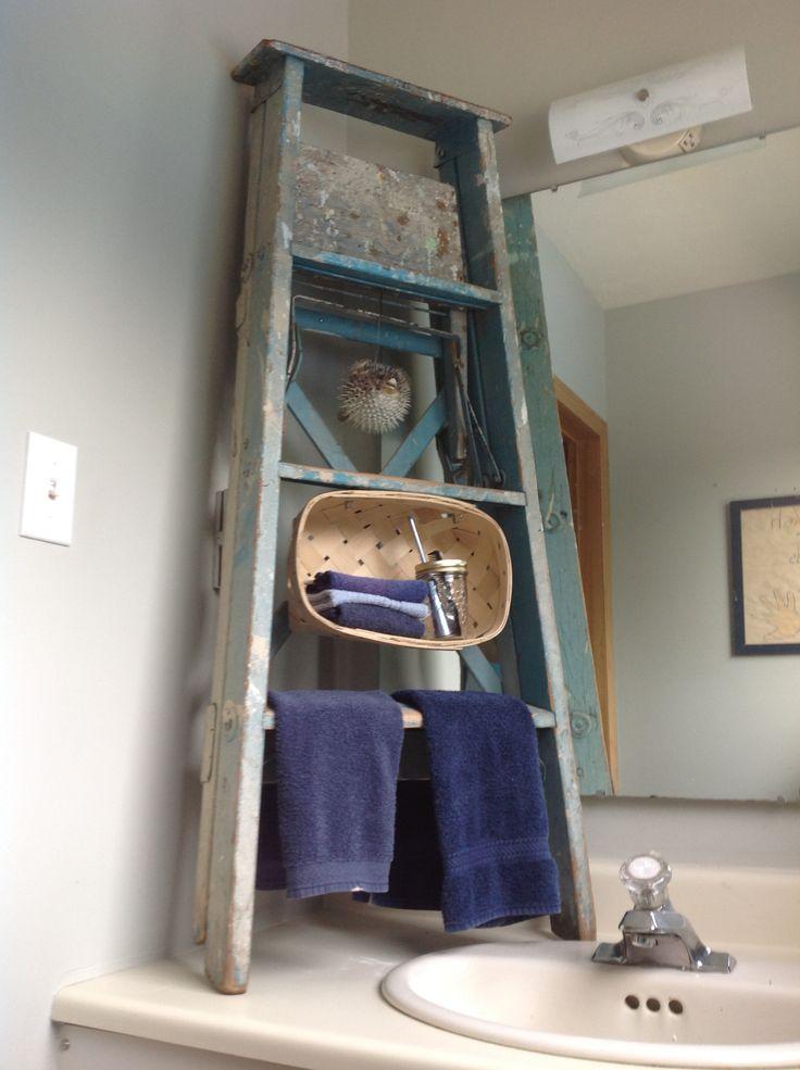 27 Best Prim Ladders Images On Pinterest Ladders Ladder