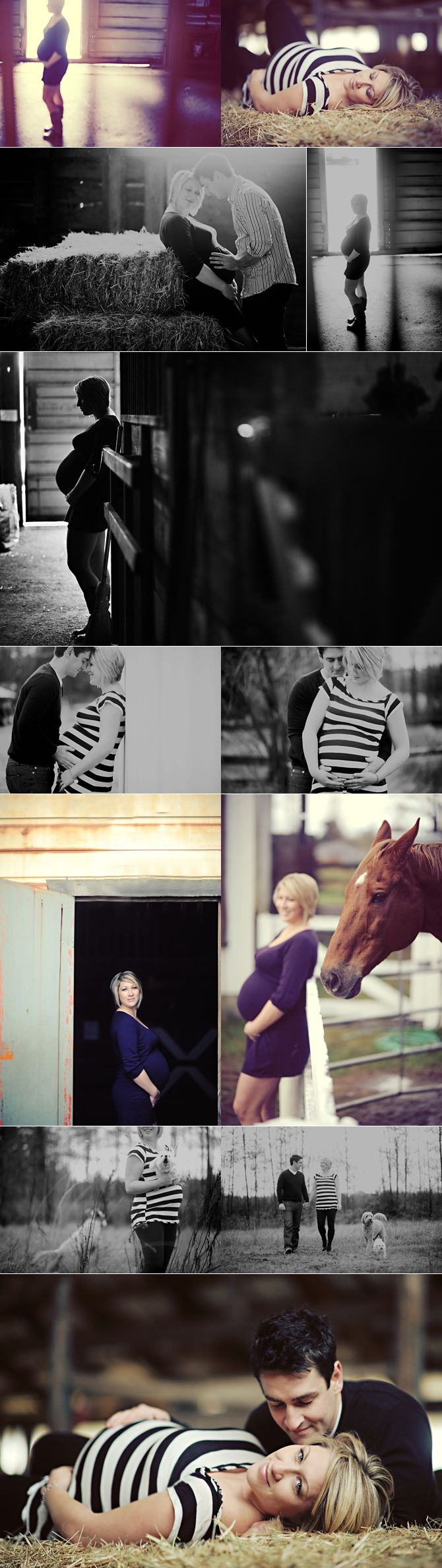 Cute country maternity picture ideas (: