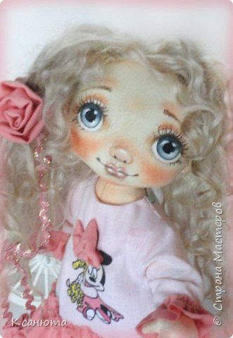 Куклы текстильные.  фото 7