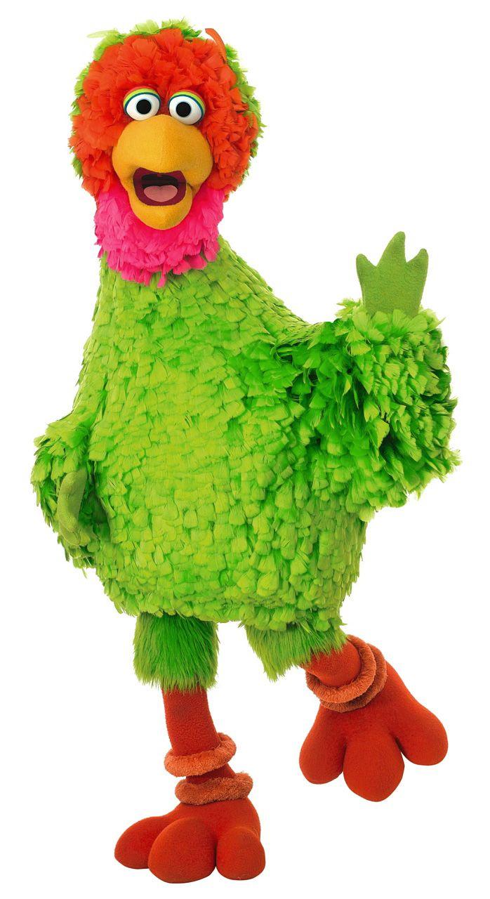 Abelardo Montoya is Big Bird's Mexican cousin on PLAZA SESAMO.