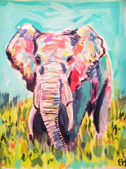 Elephant by Evelyn Henson