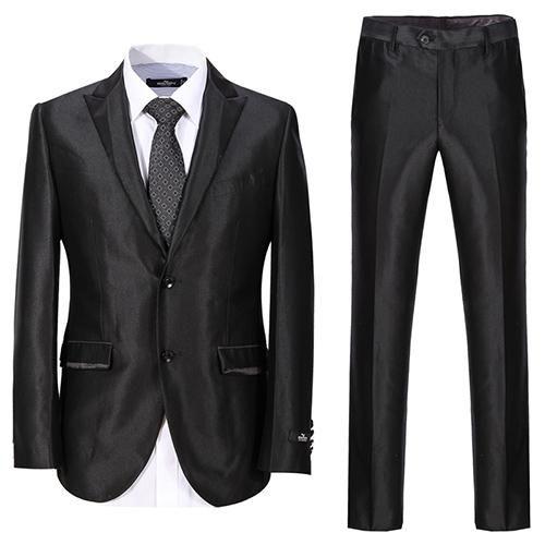 New Arrival Men Suits 3PS Notch Groom Tuxedos Wedding Suit Waistcoat Jacket  Pant