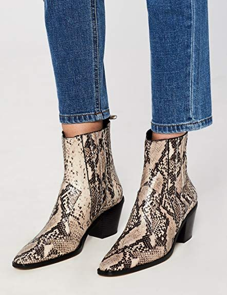 b0bf187a531a3 FIND Women's Western Ankle Boots: Amazon.co.uk: Shoes & Bags | Wish ...