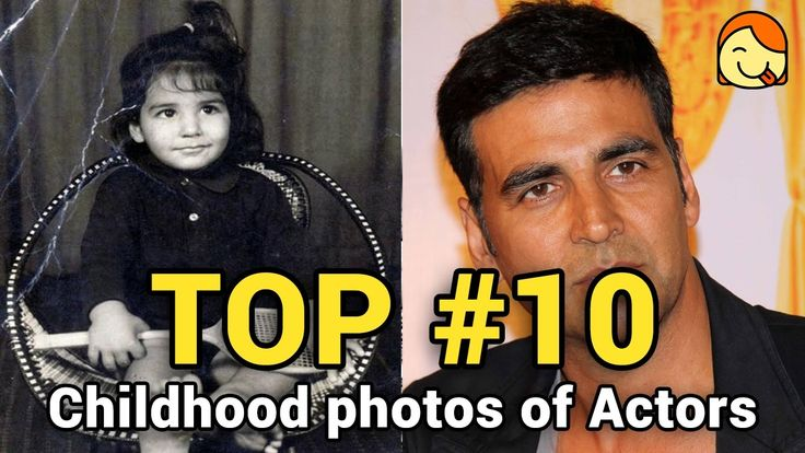 Top 10 Childhood Photos of Male Bollywood Actors #1