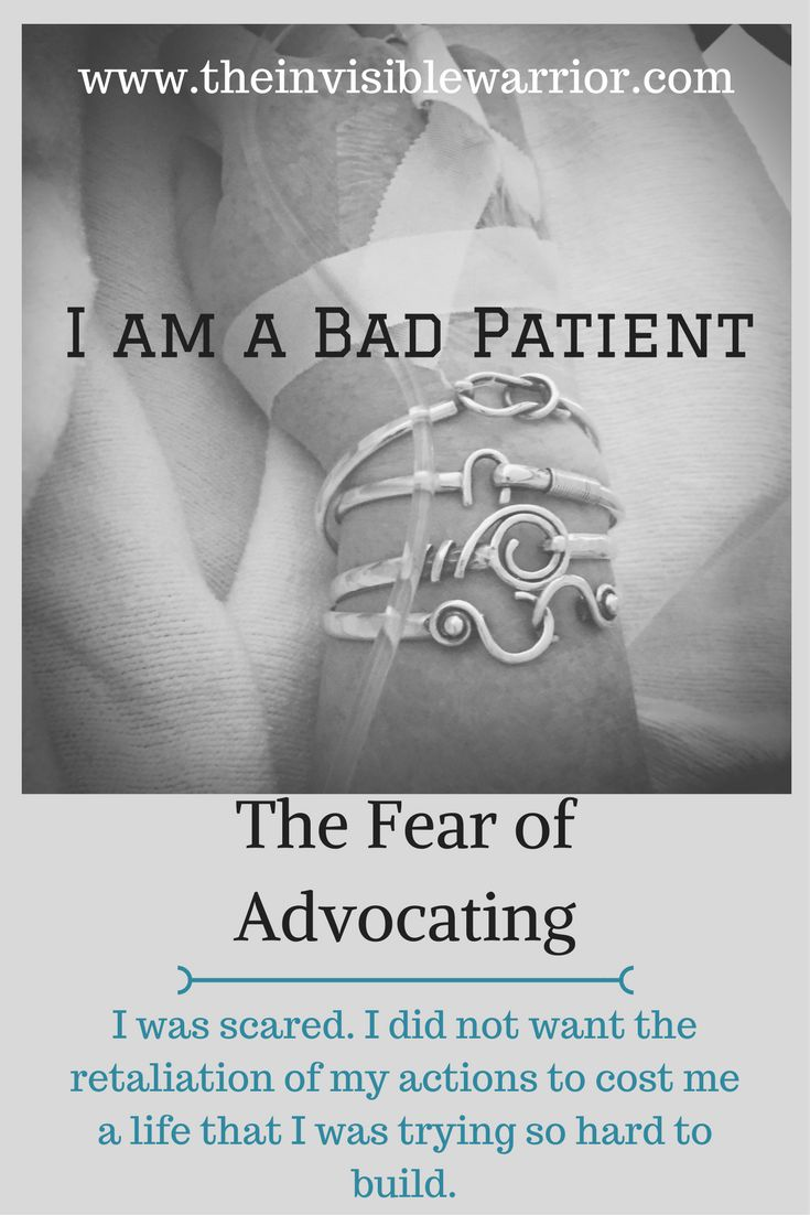 Patient Advocacy. CRPS. Ethics. Empathy. Blacklisted from treatment. Fear of advocating.