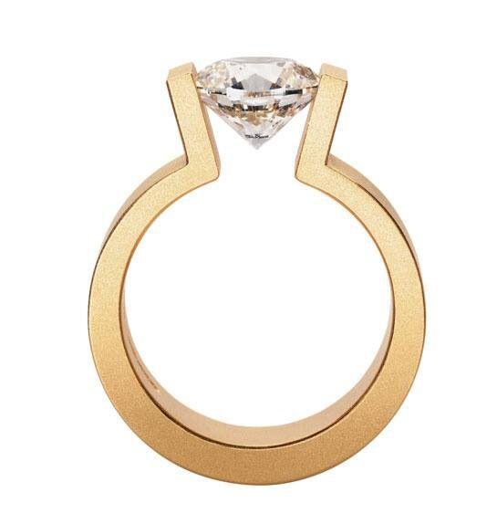 Rotgold ring dunn