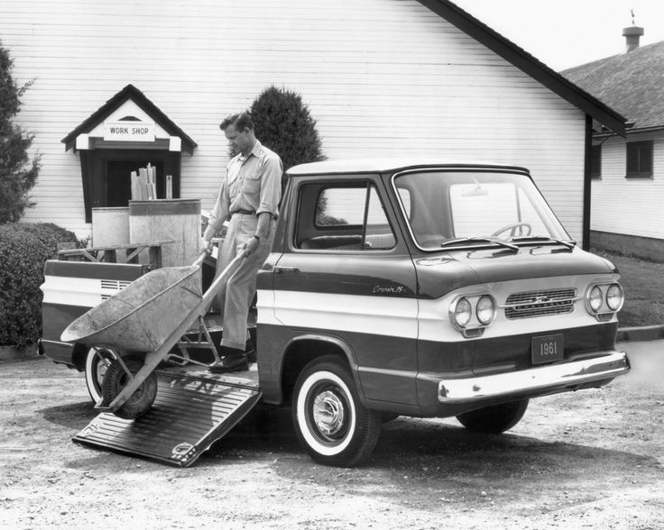 1961 Chevrolet Corvair Pickup Truck.