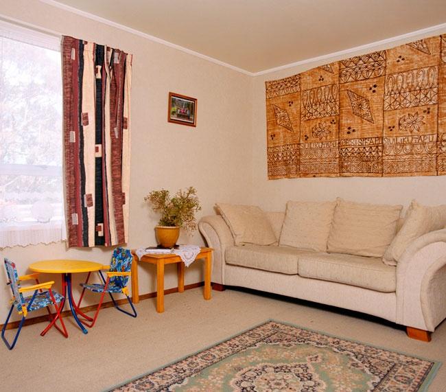 Edith Amituanai, The Sagapolu Lounge, 2005, from the series, Mrs Amituanai, C-type photograph