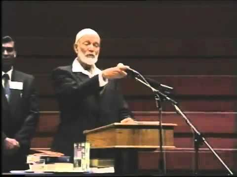 74 Lecture The Satanic Verses, Ahmed Deedat - YouTube
