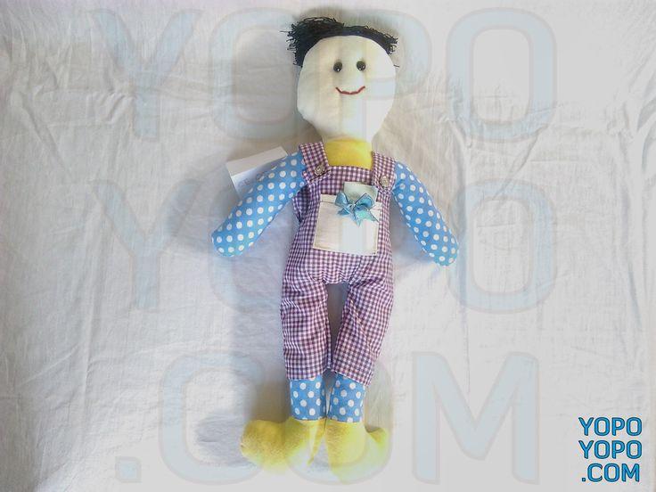 Oyuncak Bebek Erkek CE0009  Renk: Karma  Kumaş: Karma  İç Dolgu: Elyaf  Ebat: 52 cm  Fiyat: 30 TL  Açıklama: Saçı İp Püsküllüdür.  Kargo: Alıcıya Ait (Firmayı seçebilirsiniz)