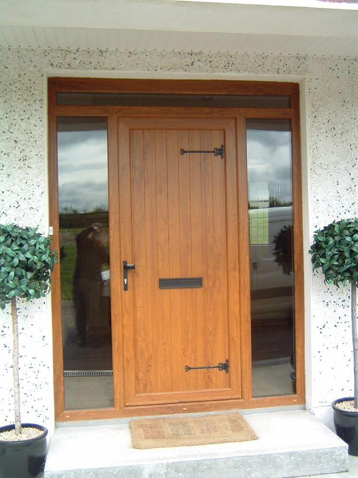 Brown PVC Doors