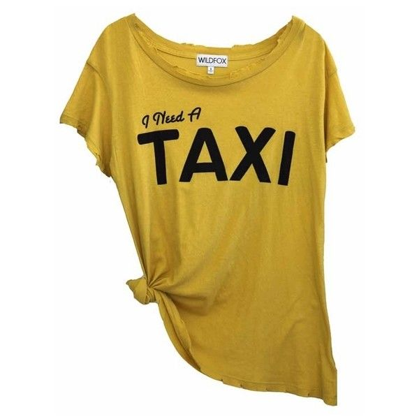 Wildfox I Need A Taxi Hippie Crewneck Tee in Daisy ($79) ❤ liked on Polyvore featuring tops, t-shirts, shirts, blusas, hippie shirt, hippie t shirts, retro t shirts, relax t shirt and crew t shirts