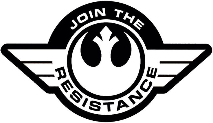 Star Wars Resistance Symbol Logo Decal for Car/Laptop by KeekatCreations on Etsy https://www.etsy.com/ca/listing/294889743/star-wars-resistance-symbol-logo-decal