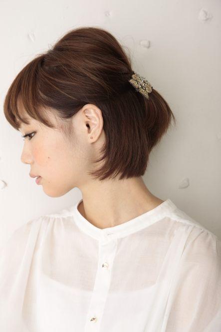 巻かなくてもOK♡ショートヘア・ボブの時短ヘアアレンジ - Locari(ロカリ)