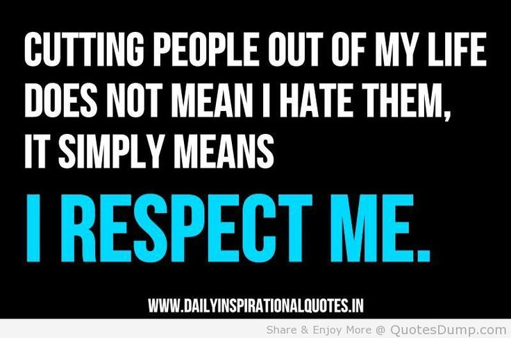 mean funny family sayings | ... not mean i hate them it simply means i respect me inspirational quote