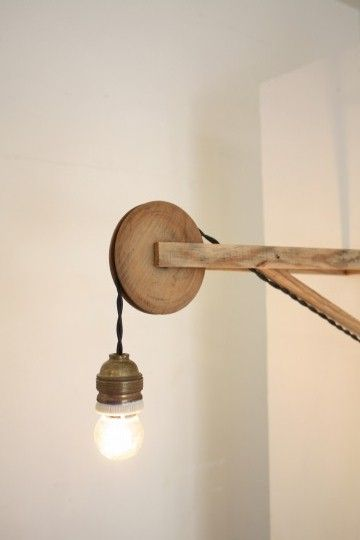 Wood lights · cool lightinglighting ideaslighting designdiy lightlamp