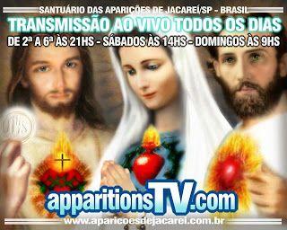 AVISOS DO CEU ... NAS APARICOES DE JACAREI - SP - BRASIL: FILMES VOZES DO CÉU - APARIÇÕES MARIANAS #APPARITIONS.TV