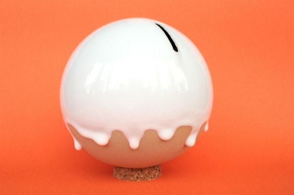 orb ceramic piggy banks by studio arhoj