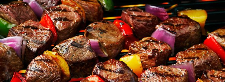 how to cook steak kabobs on gas grill