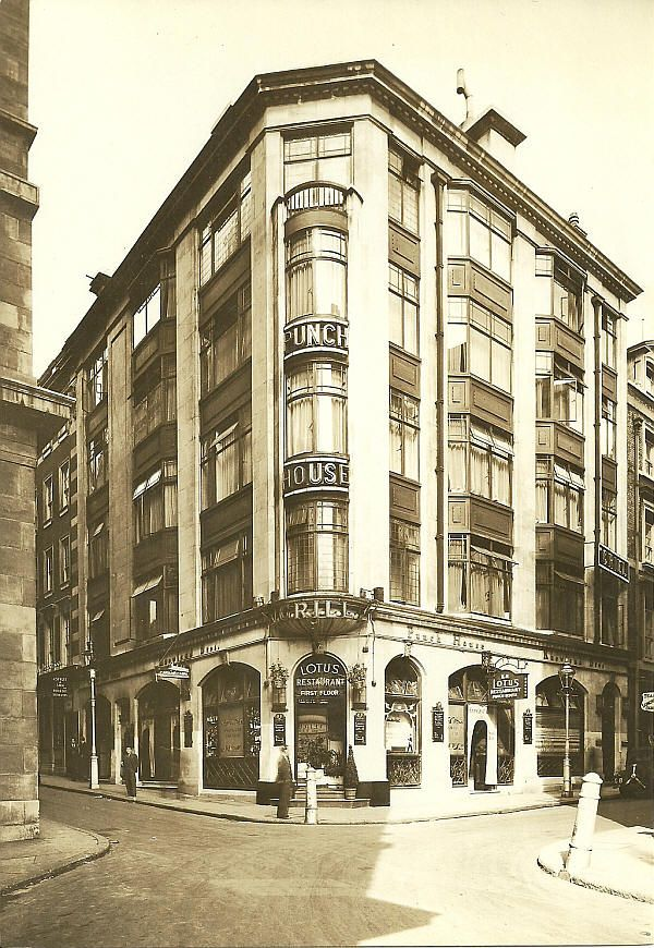 The Punch House, 1 Market Street, Jermyn Street; later at St Albans Street - in 1929