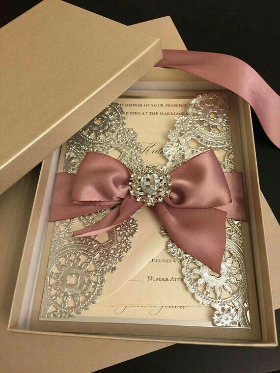 1189 best wedding invitations images on Pinterest Dinner ideas - fresh invitation box