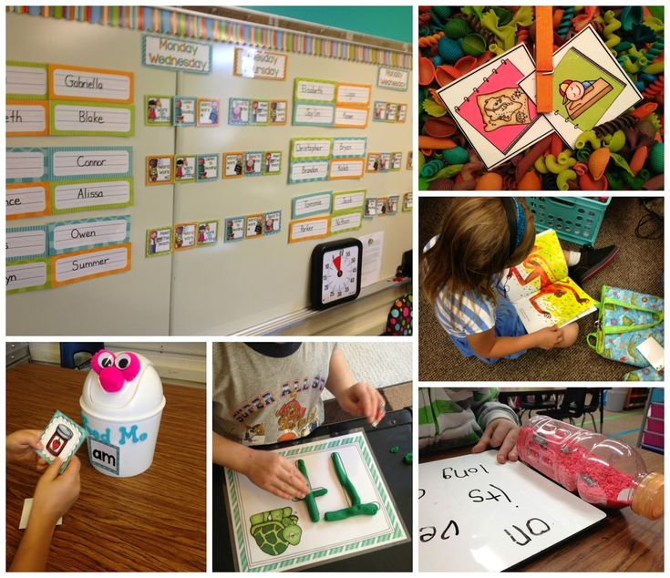 This blog post has daily schedules for a kindergarten classroom including Daily 5