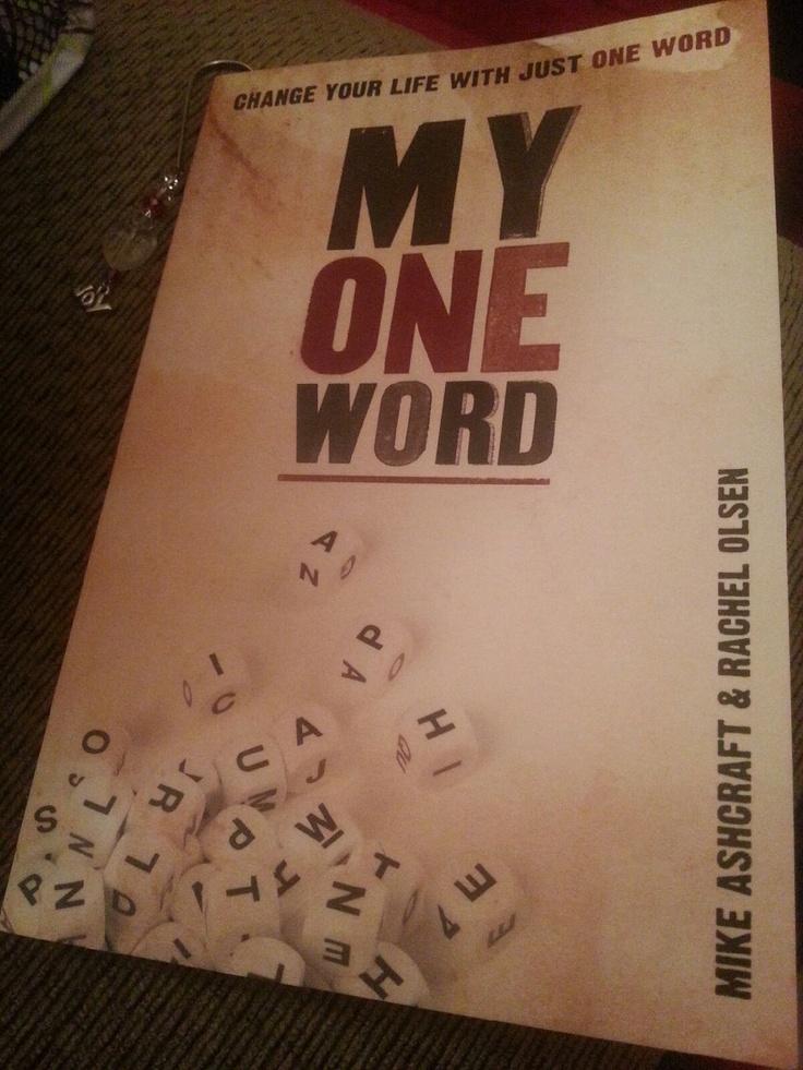 #myoneword