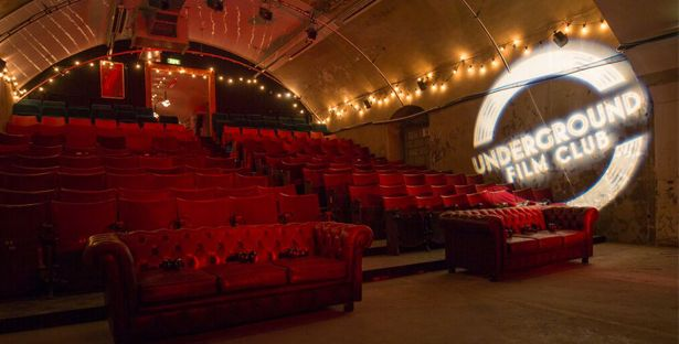 Priority booking: £15 tickets to Underground Film Club at The Vaults with no booking fee