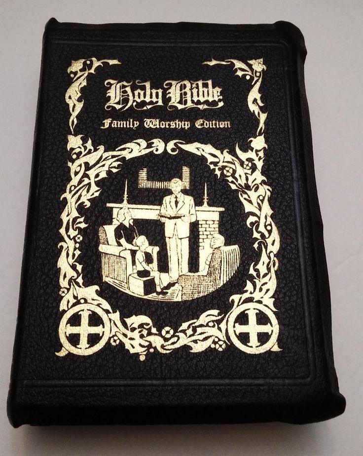KJV Holy Bible Family Worship Edition Red Letter Nashville