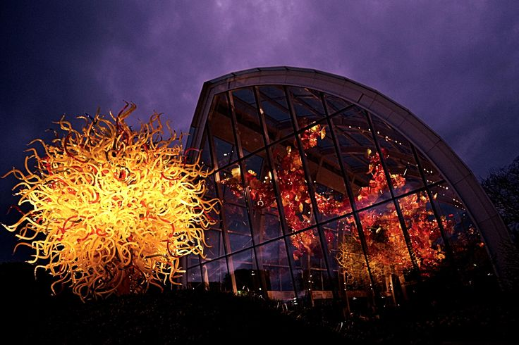 Chihuly glass garden - 2 by WilWil G on 500px