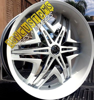 18 inch white rims for sale 24 24 inch rims wheels tires diablo elite white ch for sale. Black Bedroom Furniture Sets. Home Design Ideas