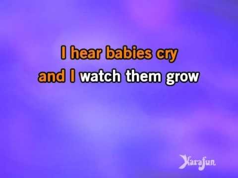 Karaoke Over The Rainbow / What A Wonderful World - Israel Kamakawiwo'ole * - YouTube