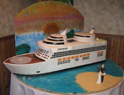 Disney Cruise Wedding Cakes