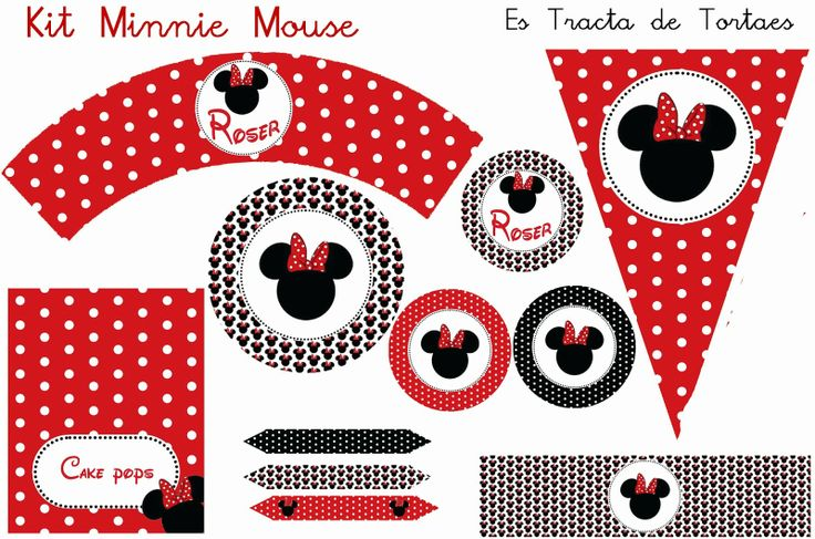 Kit de Fiesta Minni Mouse
