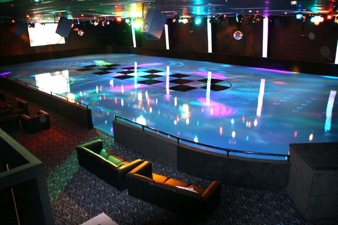I *really* want my own roller rink someday. Or some place that is my own where I can skate WHENEVER I want. Some people dream of time shares or a vacation home. I want a rink.