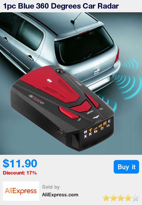 1pc Blue 360 Degrees Car Radar Detector 16 Band Voice Alert Laser V7 Security GPS Speed Radar Detector Laser LED Display * Pub Date: 08:34 Jun 27 2017