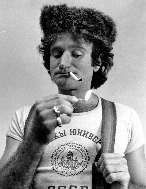Робин Уильямс, 1977 год.