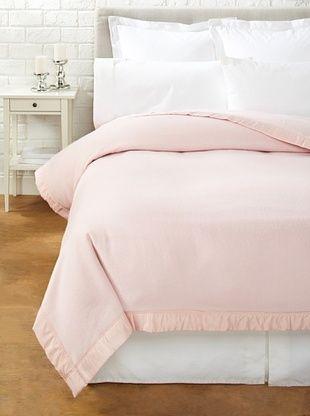 62% OFF JOHN ATKINSON by Hainsworth Duchess Blanket (Powder Pink)