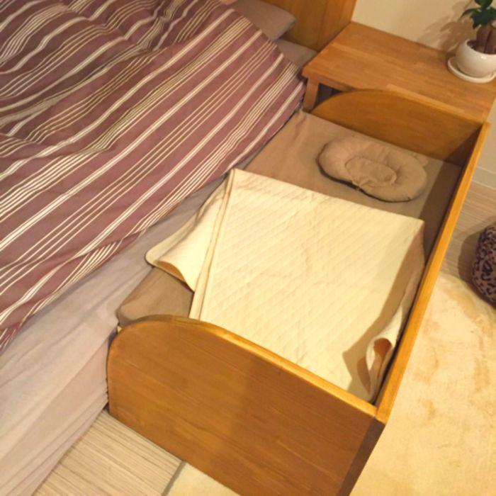 簡単diy 真似したくなる すのこ でリメイクしたベッドが素敵 キナリノ ベビーベッド Diy 赤ちゃんベッド ベビーベッド