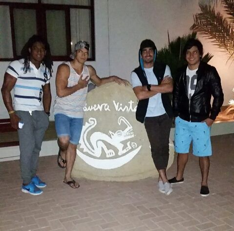 Los chicos de Combate Ecuador RTS estuvieron de visita a  #Mancora #Peru