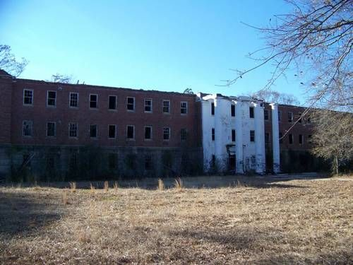 Jemison Mental Instution in Tuscaloosa, Alabama.(photo via druidcityparanormal)  Jemison Mental Instution was an African-American hospital in Alabama. It opened in 1882 and had a very cruel life up until the 1960's when it was forced to close. All the remaining patients were moved to the current Bryce Hospital, also located in Tuscaloosa. The hospital is also known as S.D. Allen Nursing Home and the Old Bryce Mental Institute.  The hospital's site has been many times the scenery of van