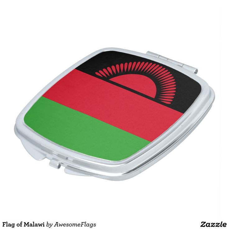 Flag of Malawi Vanity Mirror