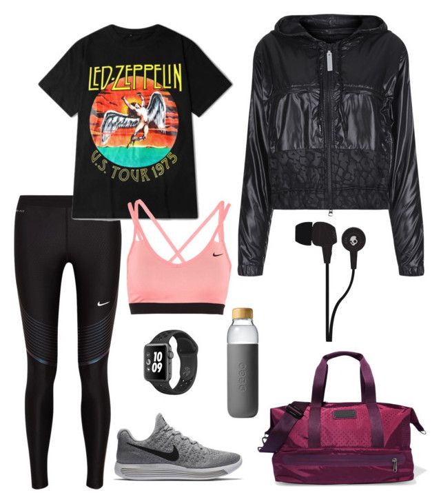 """Best Workout Outfit"" by gracestenvers on Polyvore featuring NIKE, adidas, Soma and Skullcandy"