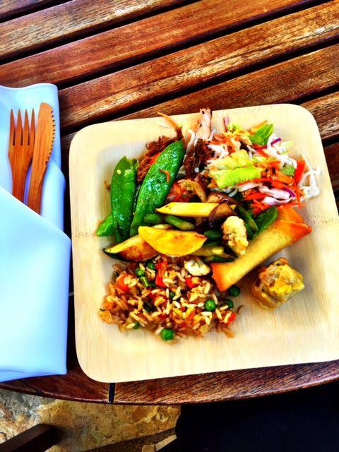 Asian Inspired lunch at Dreamworks Studios #KungFuPanda