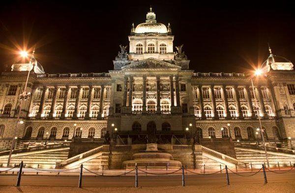 Tschechische Republik - Prag im Regen