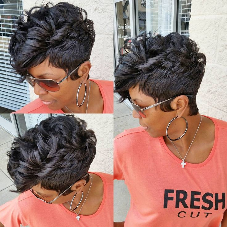 Best 25+ Black women short hairstyles ideas on Pinterest | Short ...