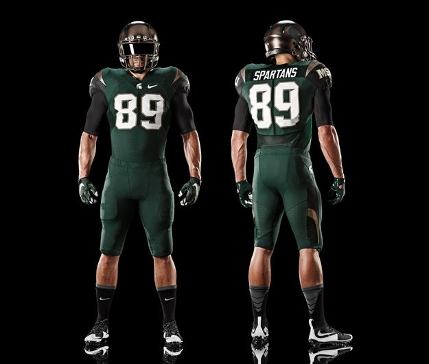 2015 Michigan State Spartans alternative football uniform
